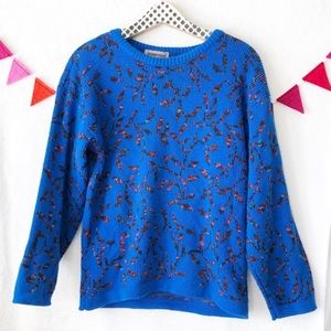 {Sheridan Square} Vintage Sweater Amazing Colors